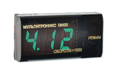 Multitronics DM 20D тахометр+вольтметр (дизель)